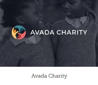 Ny hjemmeside design charity