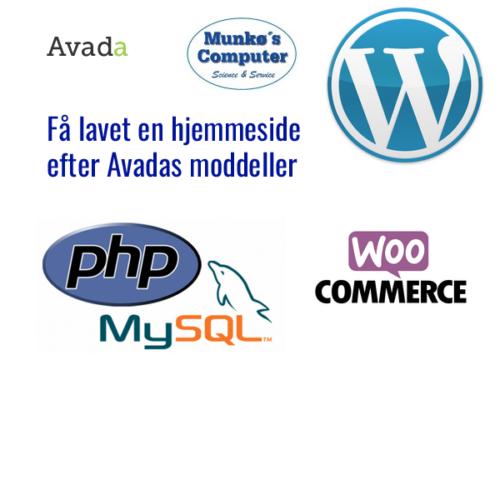 Websider og softwareprodukter
