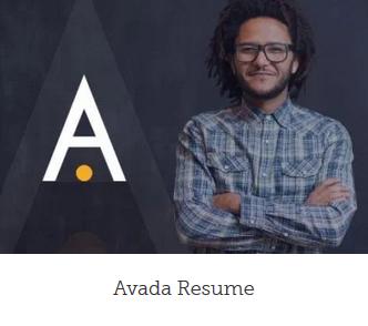Design af hjemmeside Resume design