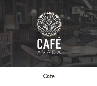 Ny hjemmeside design cafe
