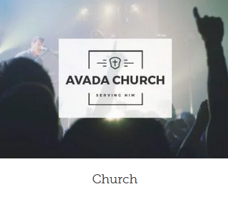 WordPress hjemmeside design church