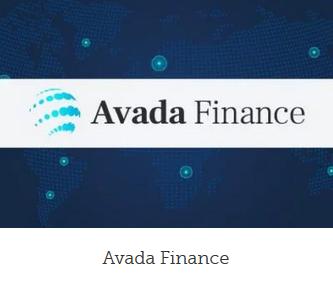 Professionel hjemmeside finance design