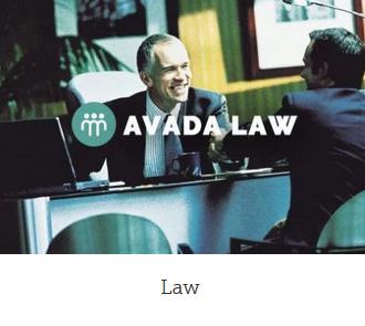 WordPress webside med design law