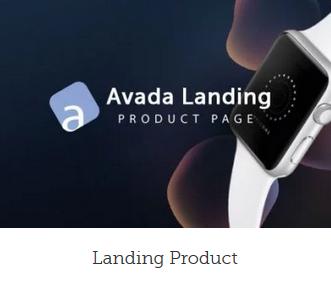 Professionel hjemmeside design landind product
