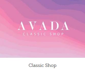 Ny hjemmeside shop design