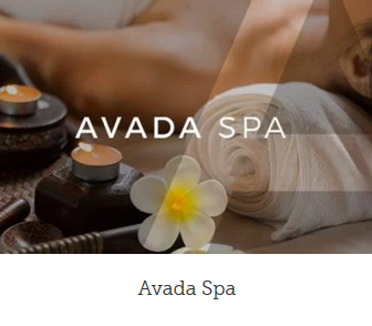 WordPress webside spa design
