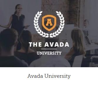 Ny hjemmeside university design